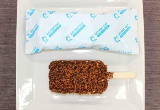 竹下製菓「ブラックモンブラン DO NOT EAT(ドゥ ノット イート)」