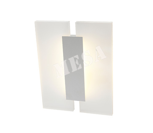 contemporary acrylic led wall lights