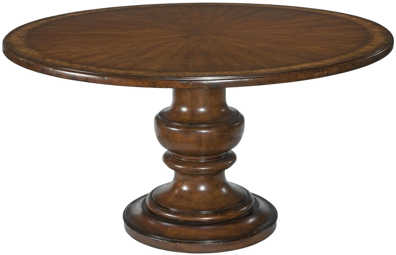 Round Pedestal Dining Table