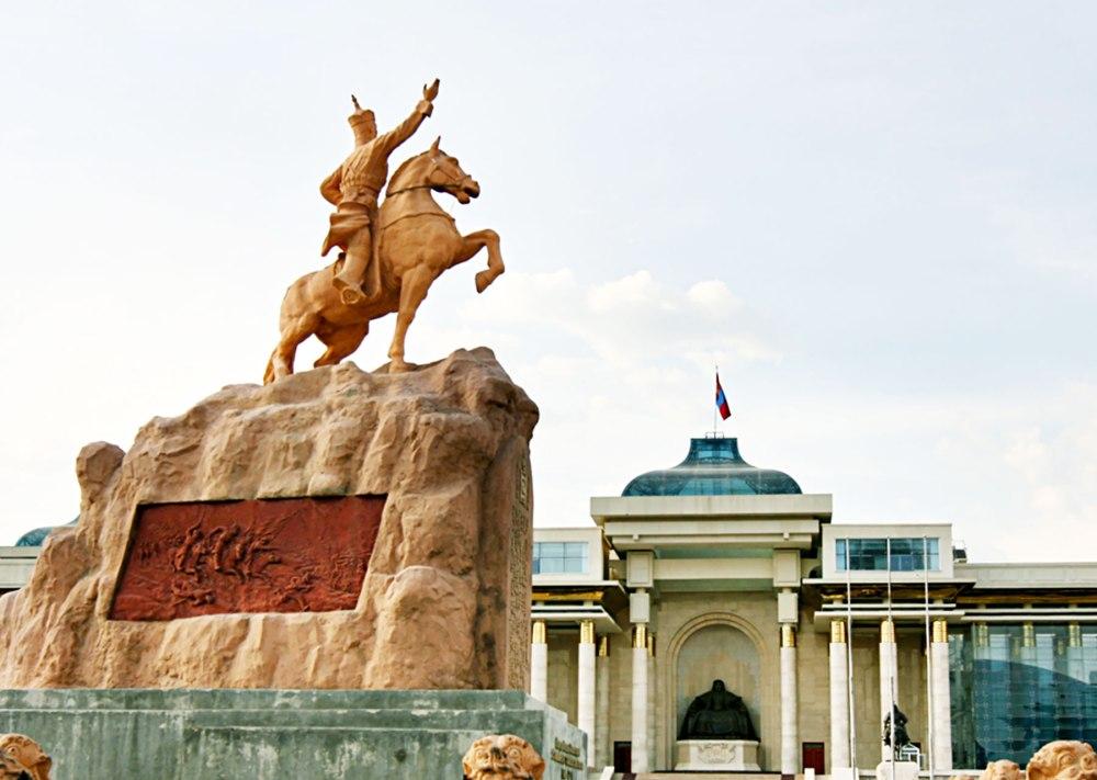 蒙古國首都「烏蘭巴托」是座現代化城市,商業發展蓬勃。
