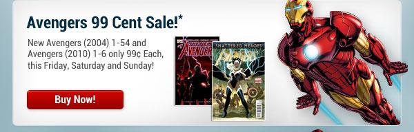 Avengers 99 Cent Sale!