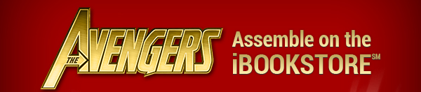 The Avengers Assemble on the iBOOKSTORE (SM)