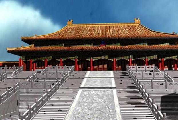 Beijing Palace Museum ancient architecture  Containing Materials  3D     Beijing Palace Museum ancient architecture  Containing Materials  3D Model