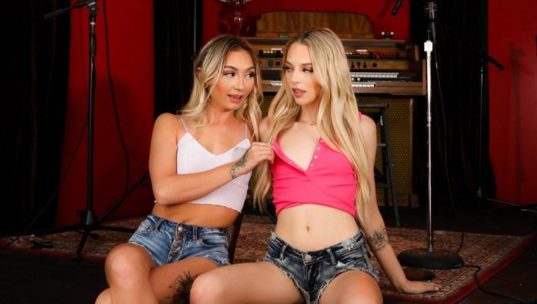 It's Okay, We're Just STEP-Sisters! Chloe Temple & Lily Larimar