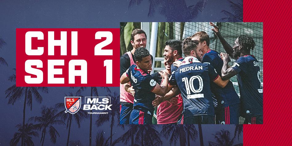 CHI 2 - SEA 1 | MLS IS BACK