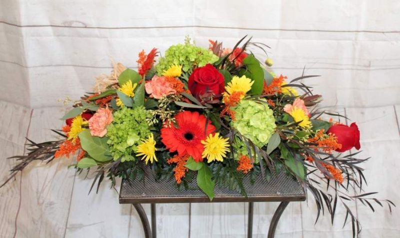 fall long and low centerpiece brick nj