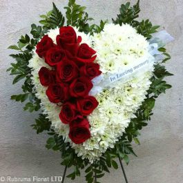 Sympathy And Funeral Wreaths Hearts And Crosses Rubrums