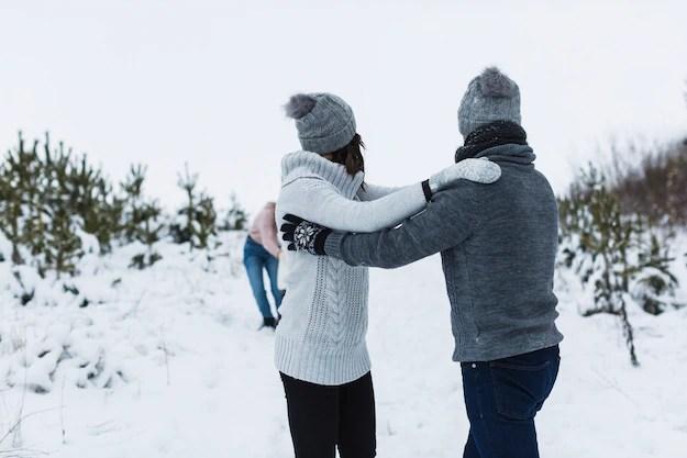 relatia de cuplu iarna