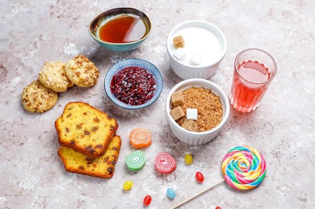 Alimentos com alto teor de carboidratos