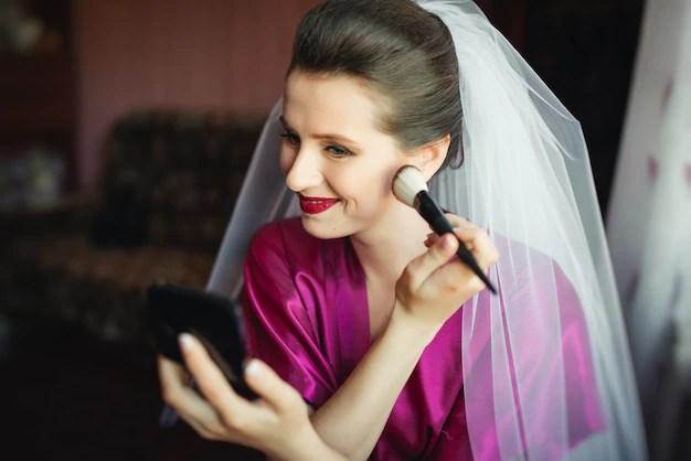 Braut Make Und Frisur Stockfoto C Mardozlule Gmail Com 223585578