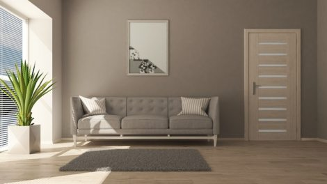 3d contemporary living room interior and modern furniture Free Photo