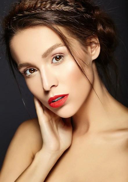 Fresh Makeup Red Lips
