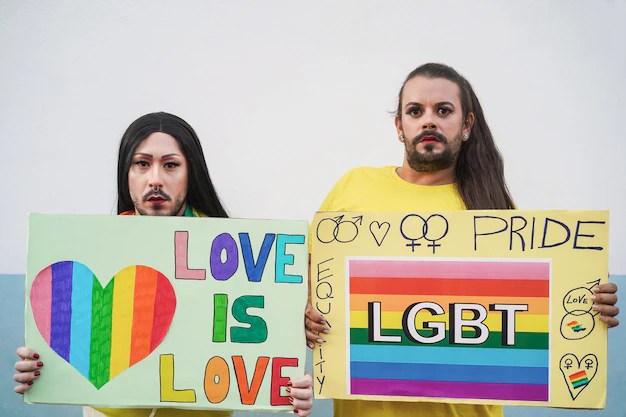 Kärlek, pride-festivalen