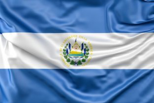 Flag of el salvador Free Photo