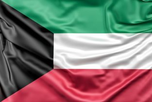 Flag of kuwait Free Photo