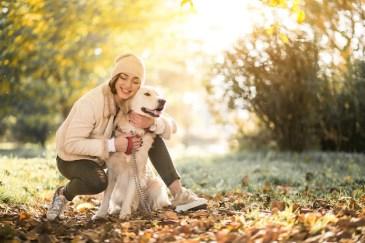 Free Photo | Girl with dog