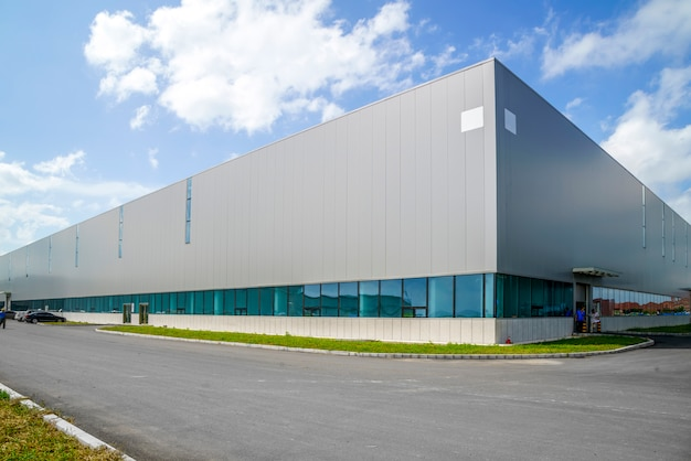 Industrial Park Factory Building Warehouse Photo Free