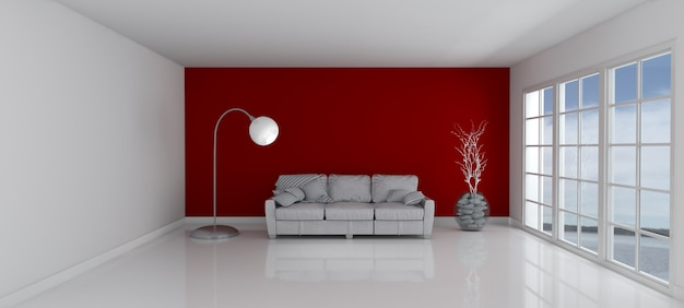 Image Result For Red Wine Living Room