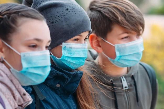 Dood Duitse kinderen in verband gebracht met mondkapjesplicht