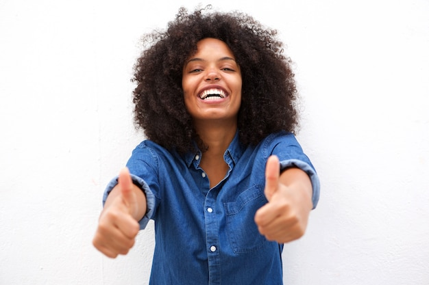 Image result for black woman doing thumbs up