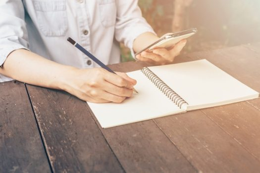 Image result for free use pictures writing at a coffee shop