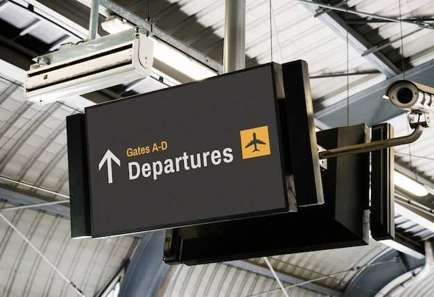 Download Airport Mockup Free Yellowimages