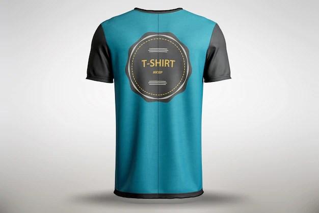 Download Free PSD | Blue t-shirt mock up