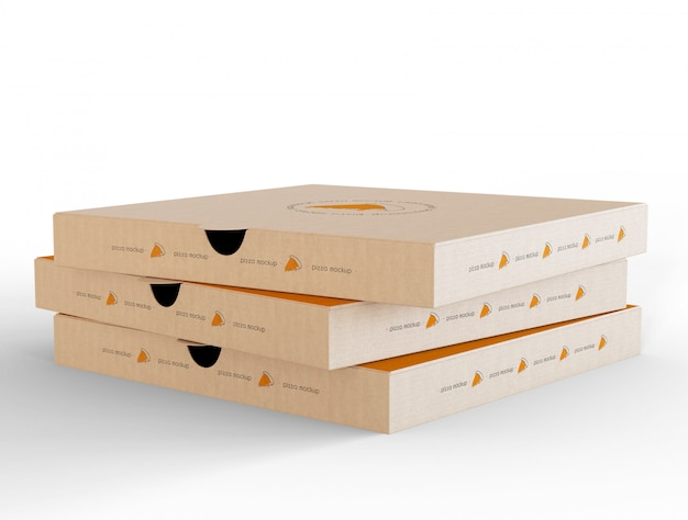 1025+ Free Pizza Box Mockup Mockups Builder
