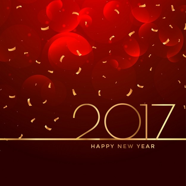 2017 new year celebration background in red color Vector   Free Download 2017 new year celebration background in red color Free Vector