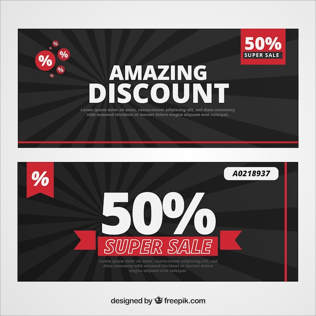 discount coupon vectors photos and psd files free download