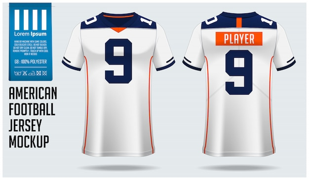 Download View American Football Kit Mockup Front View Gif ...