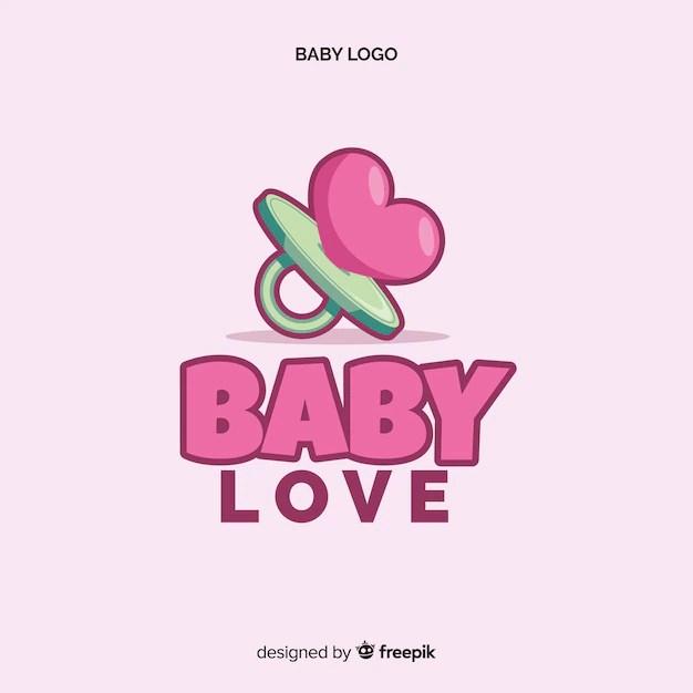 Download Baby love logo | Free Vector