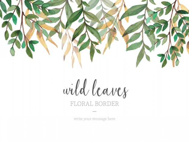 Leaves Border Vectors, Photos And PSD Files