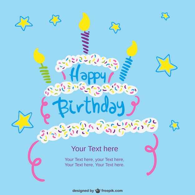 Free Template Birthday Card for description about this see – Sample of Birthday Card
