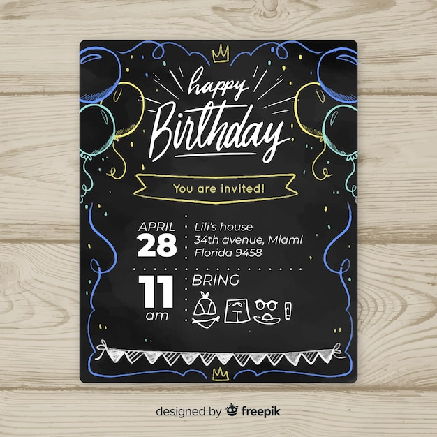 First Birthday Vectors Photos And PSD Files Free Download