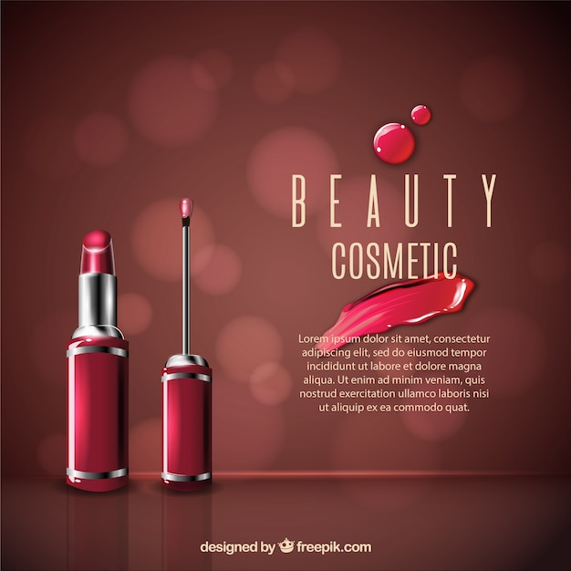 Bokeh background makeup Vector   Free Download Bokeh background makeup Free Vector