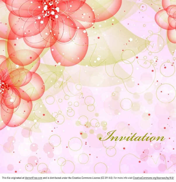 download vector glow bright floral 3