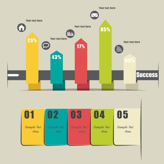 Infographic Ideas infographic template in word : pic 1 line for word. business infographic template vector free ...