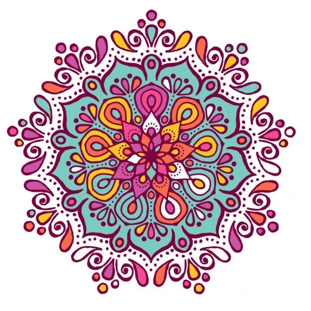 Pages Coloring Mandala Peace Unique