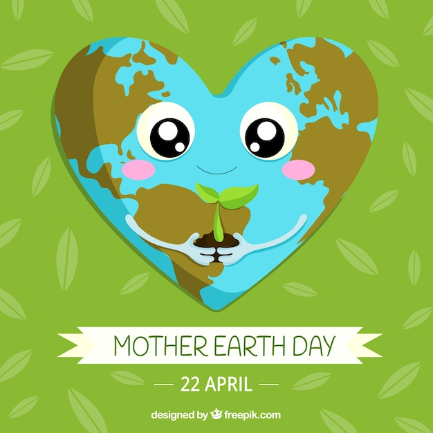 Cute Earth Day Pictures Djiwallpaper Co
