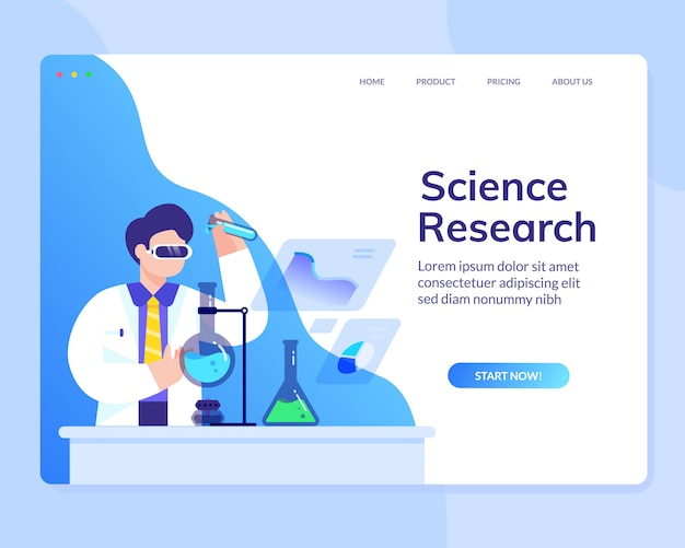 Data Scientist Analysis Research Science Website Template