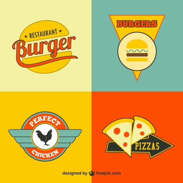 Logos Restaurants Food Fast Names