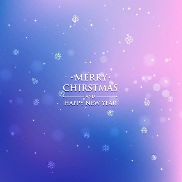 Gradient Christmas Background Vector Free Download