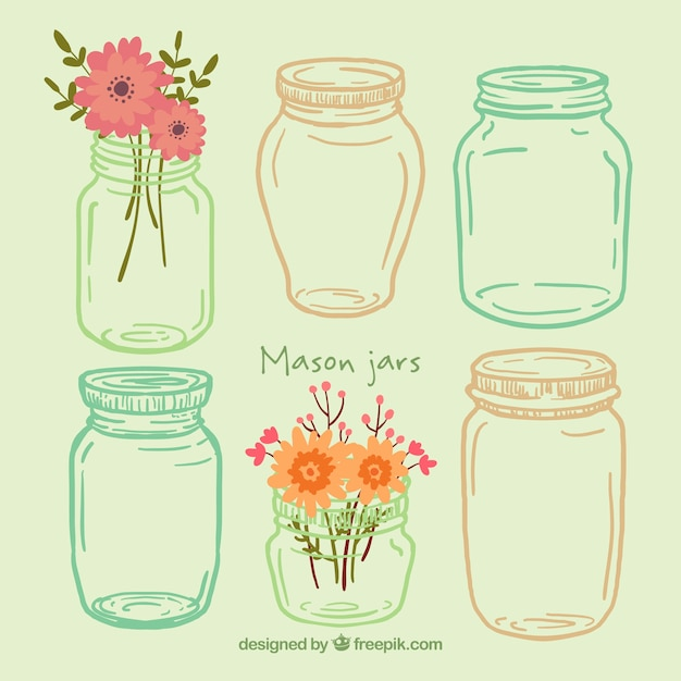 Jar Vectors Photos And PSD Files Free Download