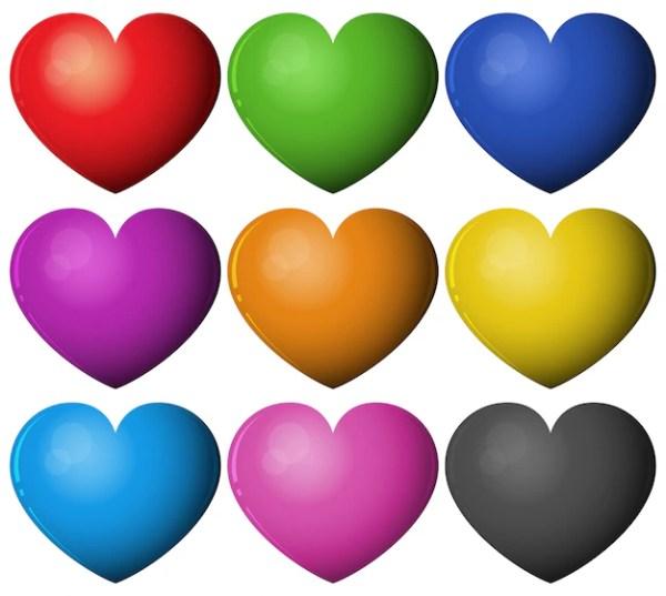 hearts colors # 22