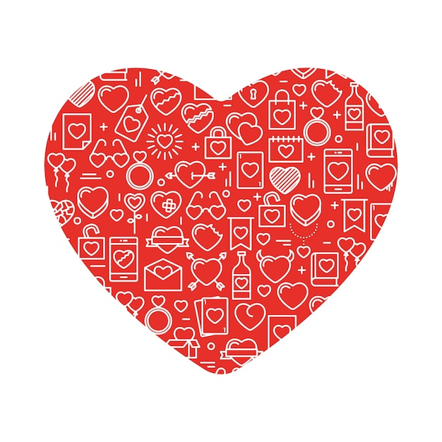 Heart Outline Vectors Photos And PSD Files Free Download