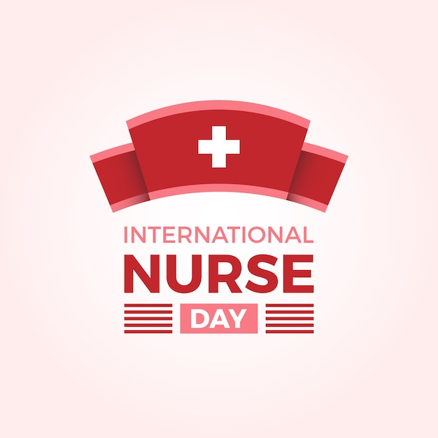 International nurse day background | Free Vector