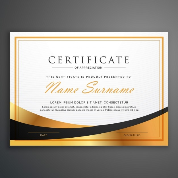 Luxurious certificate Vector   Free Download Luxurious certificate Free Vector
