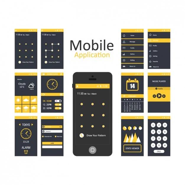 Application Ui Design Templates  customizing the ui for