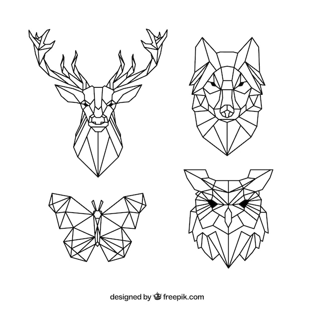 Animals Polygons Vectors Photos And PSD Files Free Download